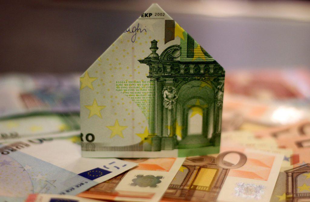Bausparvertrag, Sparen, Euro