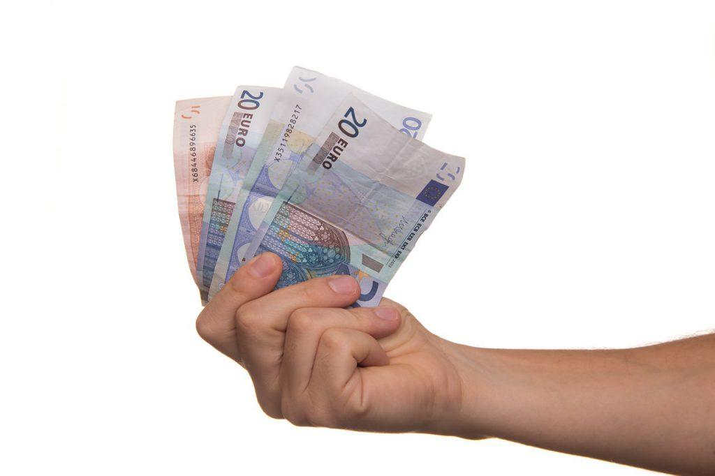 Arbeitslohn, Mindestlohn, Geldscheine