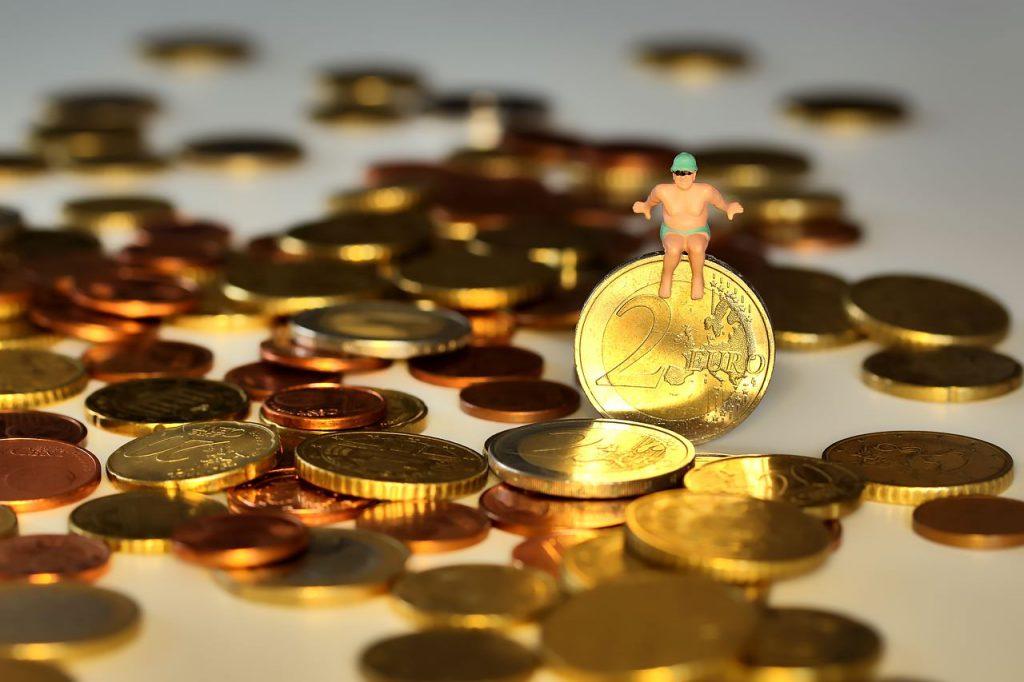 Geld und Mindestlohn